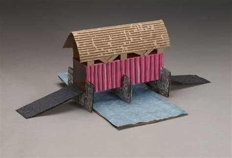 mystery crafts for covered bridge mystery or craft crayola