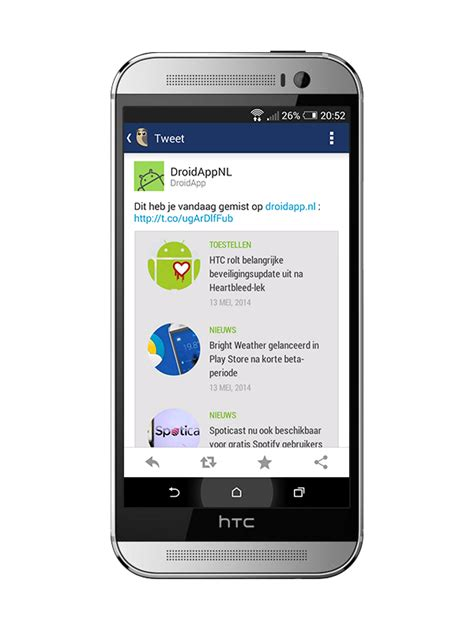 hootsuite for android hootsuite brengt grote update uit voor android app droidapp