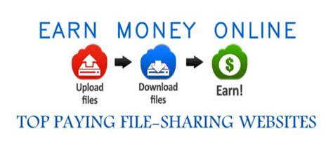 Top Online Money Making Sites - make money online top paying file sharing websites