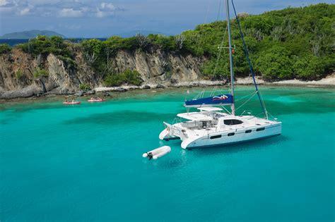 catamaran around bvi the moorings archives virgin island sailing ltd