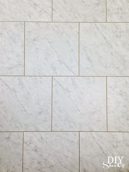 vinyl floor tile with grout