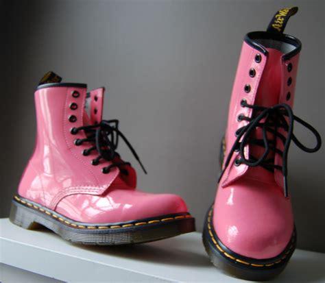 authentic original dr doc martens pink patent leather