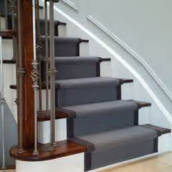 How To Paint A Stair Banister Wool Carpet Runner For Oak Stairs Traditional