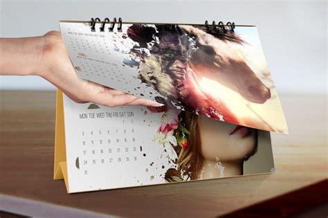 desain kalender meja 2016 desk calendar mockup
