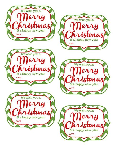 new year name tags free printable tags we wish you a merry and a