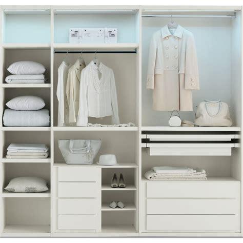 organizzazione armadio esempio di organizzazione interna di un armadio a 5 ante