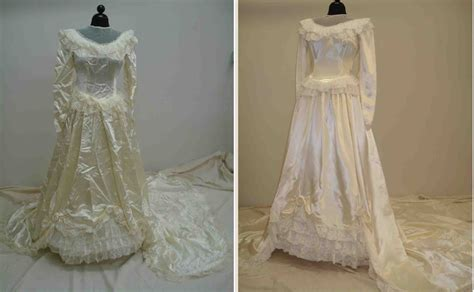 Wedding Dress Restoration by Photo Gallery Of Vintage Wedding Gown Restorations