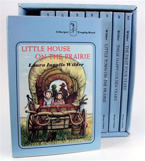 little house on the prairie book 8 little house on the prairie books in slipcase used books vintage china linens