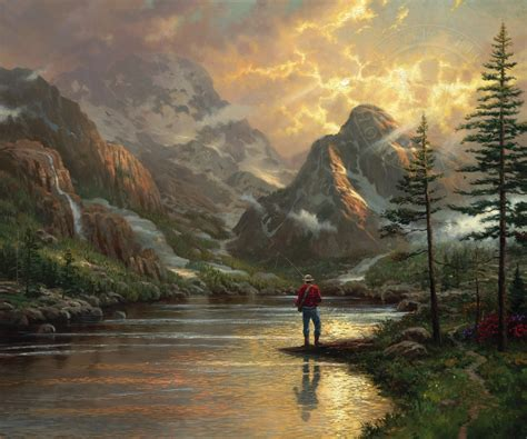 paintings for sale almost heaven the kinkade company