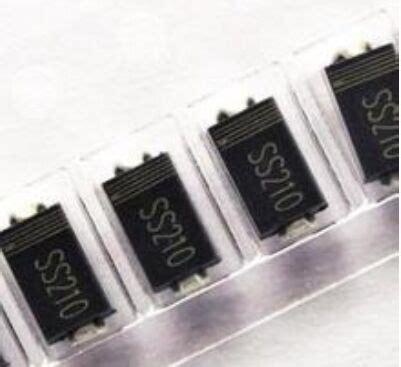 Ss210 Sr2100 2a 100v Sma Smd Dioda 肖特基二极管ss210 sma厂家优势现货 厂家 价格 报价 电源网