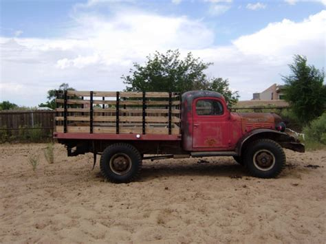 dodge power wagon 1950 cevilion version flatbed