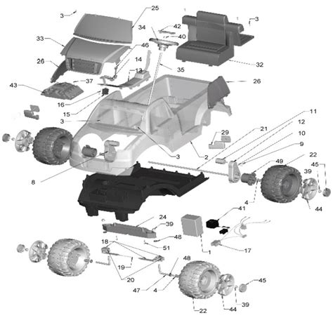 ford truck parts diagram power wheels lil ford f150 parts