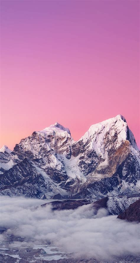 wallpaper for iphone mountains himalaya sunset mountain the iphone wallpapers
