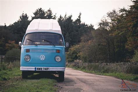 volkswagen van hippie blue surf blue 1976 volkswagen hippie cer van just 5000