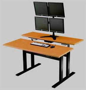 Adjustable Desks For Standing Standing Computer Desk Adjustable Desk