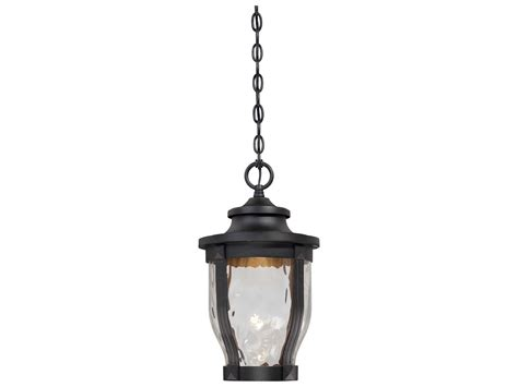 Minka Lavery Outdoor Lights Minka Lavery Wynterfield Black Led Outdoor Hanging Light Mgo876466l