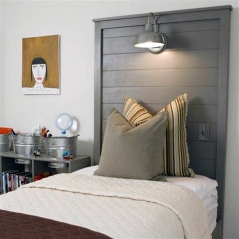 wood headboard diy 45 creative headboard design ideas for room