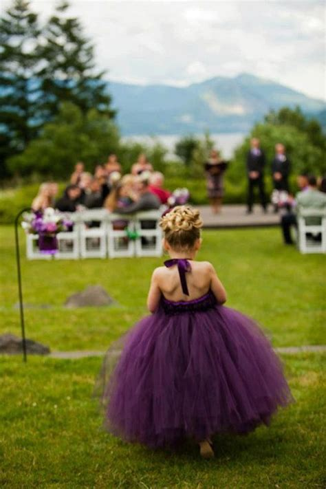 plum colored flower dresses 18 cutest flower ideas for your wedding day