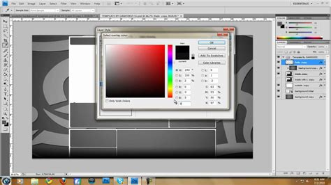 photoshop template video tutorials how to make a youtube background including template
