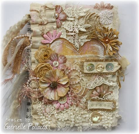 vintage style covers such a pretty mess vintage style fabric paper journal
