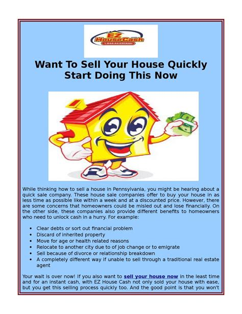 sell your house now in philly at best cost by ez house