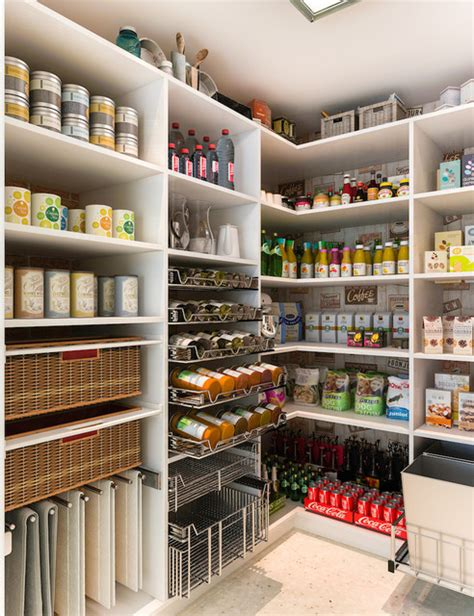 Kitchen Pantry Los Angeles Walk In Pantry Modern Kitchen Los Angeles By