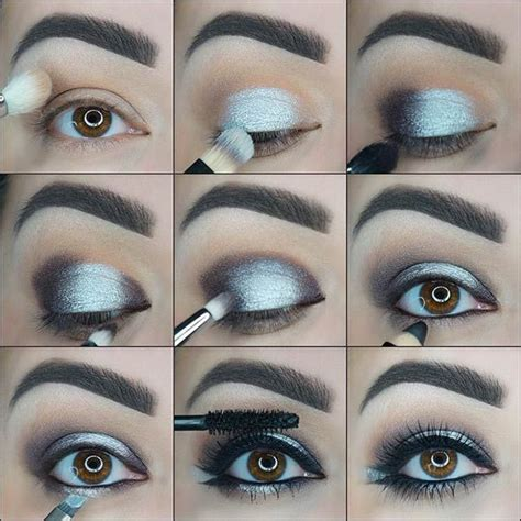 8 Steps To Springs Smoky Eye Look by 25 Best Ideas About Silver Smokey Eye On