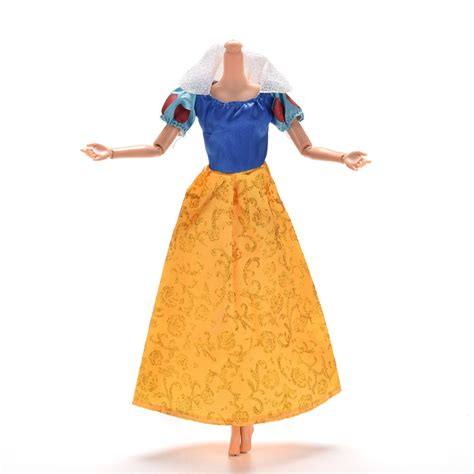 Lovely Handmade Fashion Clothes Dress For Doll Costu beautiful handmade clothes fashion dress for noble doll 11 quot in dolls from toys