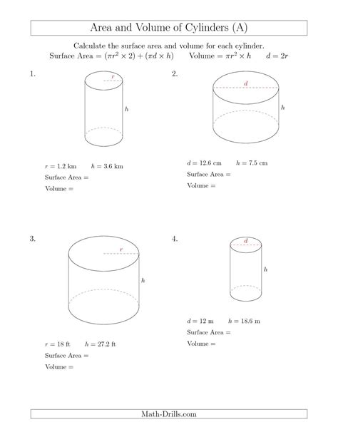 updated 2015 10 28 calculating surface area and volume of