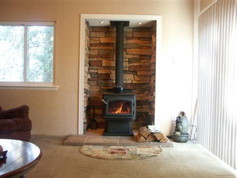 Fireplace Alcove by Regency F2400 Woodstove Install Alcove Hearth