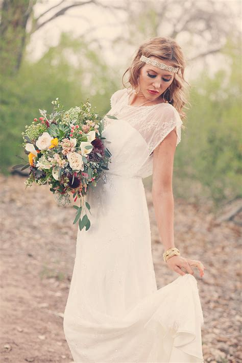 Photo Fridays   Southwestern Boho Bride   Glamour & Grace
