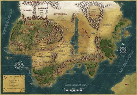 pangaea exiles books mapa de hiboria conan planos saga and libros