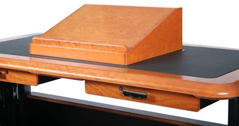 Lectern Desk by Lectern Tops Caretta Workspace