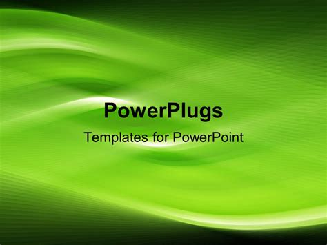 backgrounds for powerpoint presentations green swirl ppt powerpoint template glowing green swirls on black