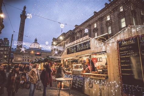 newcastle christmas market market place europe