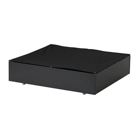 vard 214 bed storage box black ikea