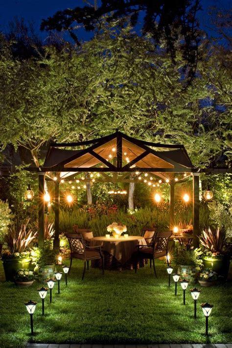 backyard solar lighting ideas creative outdoor lighting using lights
