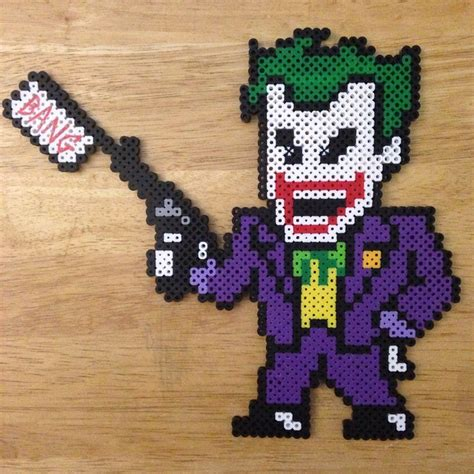 zelda gambling pattern the joker hama beads by wrxkbe i want to hama you