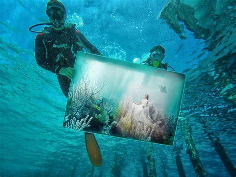 illusions color spa phantasy fairytale underwater exhibition opens at per