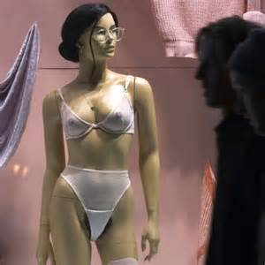 what fashionable for pubic hair american apparel s mannequins sport the latest accessory