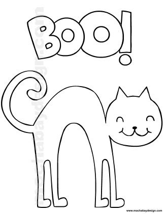 scared cat coloring page how to draw scared cats