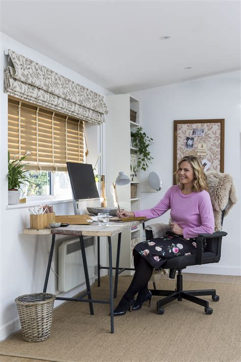 top tips for creating the perfect home office space wellbeing guru liz earle reveals her 7 top tips for