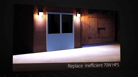 rab outdoor led lighting rab entra led doorway light
