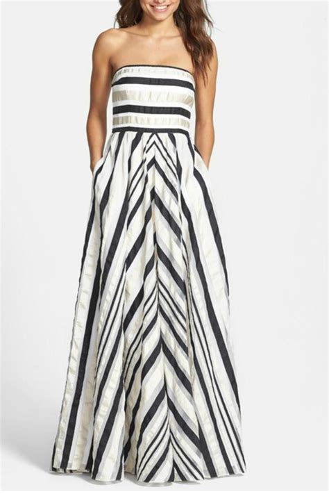 Ribbon Maxi 4 papell ribbon striped dress from miami by cattiva