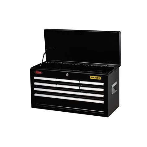 stanley 24 in w 5 drawer tool cabinet stanley 24 in 8 drawer tool chest black c 308bs the