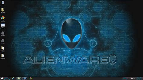 themes for windows 10 alienware alienware theme for windows 7 8 10 youtube