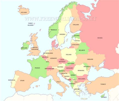 printable map of printable map of europe estarte me