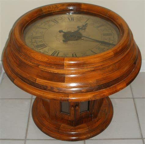 antique end tables ebay vintage antique seisekowa coffee end table gallery clock