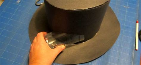 How To Make A Paper Top Hat - paper top hat steunk make your own