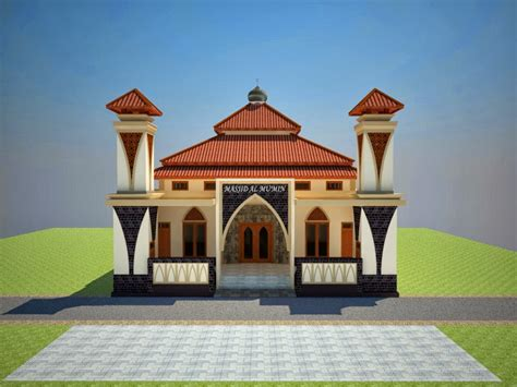 desain kubah masjid minimalis info bisnis properti foto gambar wallpaper